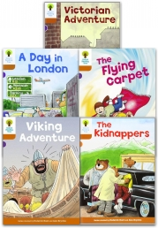Oxford Reading Tree Read With Biff Chip Kipper Stories Collection 5 Books Set Level 8 Photo