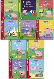 Peppa Pig Read it Yourself with Ladybird Collection 10 Books Set Level 1-2 Photo
