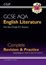 New GCSE English Literature AQA Complete Revision & Practice - Grade 9-1 (with Online Edition) Photo