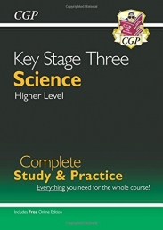New KS3 Science Complete Study & Practice - Higher (with Online Edition) (CGP KS3 Science) Photo