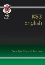 New KS3 English Complete Study & Practice (with Online Edition) (CGP KS3 English) Photo