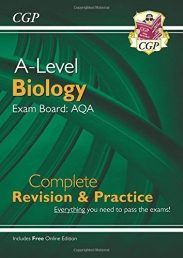 New A-Level Biology for 2018: AQA Year 1 & 2 Complete Revision & Practice with Online Edition (CGP A-Level Biology) Photo