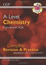 New A-Level Chemistry for 2018: AQA Year 1 & 2 Complete Revision & Practice with Online Edition (CGP A-Level Chemistry) Photo