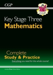 New KS3 Maths Complete Study & Practice (with Online Edition) (CGP KS3 Maths) Photo