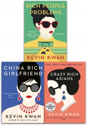 Kevin Kwan Crazy Rich Asians Trilogy Collection 3 Books Set Pack by Kevin Kwan
