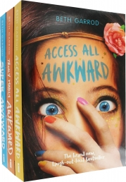 Beth Garrod Awkward Series Collection 3 Books Set Photo