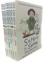 Dick King Smith Collection Sophies Animal Adventure 6 Books Set Sophies Snail Sophies Tom Sophie Hit Six Sophie in the Saddle Sophie is Seven Photo