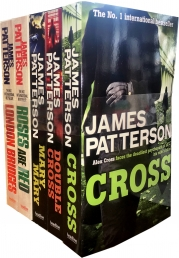 James Patterson Alex Cross Series Collection 5 Books Set Pack Photo