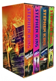 Stephen King Classic Collection 4 Books Box Set (The Shining, Bag of Bones, Christine, Cell) Photo