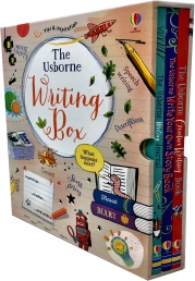 The Usborne Writing Collection 3 Books Box Set Pack Creative Writing, Journal Photo
