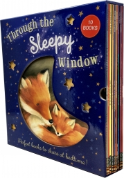 Through The Sleepy Window 10 Books Collection Box Set Photo