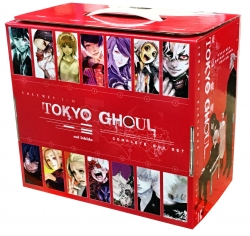 Tokyo Ghoul Complete Box Set: Includes vols. 1-14 with premium By Sui Ishida Photo