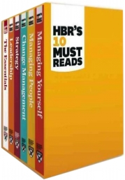 HBR's 10 Must Reads Collection 6 Books Box Set (Managing Yourself, Managing People, The Essentials, Change Management, Strategy, Leadership) Photo