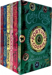 Cathy Cassidy The Chocolate Box Girls 6 Books Collection Set (Sweet Honey, Summer Dream, Coco Caramel, Marshmallow Skye and Cherry Crush) Photo