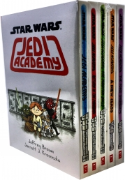 Star Wars Jedi Academy 5 Books Collection Set (Star Wars Jedi Academy, Return of the Padawan, The Phantom Bully, A New Class, The Force Oversleeps) Photo