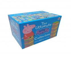The Ultimate Peppa Pig Collection Set - Peppas Classic 50 Storybooks Box Set, Age 3-6