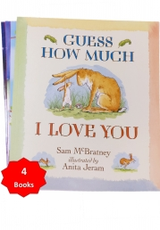 Guess How Much I Love You With 3 Extra Childrens Picture Books Stories Photo