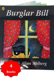 Burglar Bill and Other Stories Collection 4 Books Set Photo