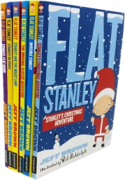 Flat Stanley's Christmas Collection 6 Books Set Photo