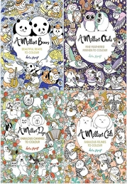 Lulu Mayo's A Million Colouring Books (4 Books Collection Set) Photo