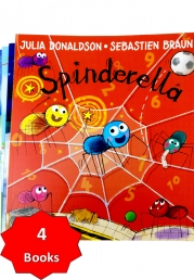Spinderella By Julia Donaldson With 3 Extra Stories Photo