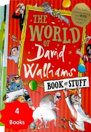 The World of David Walliams Book of Stuff With 3 Extra Children's Picture Books Stories Photo