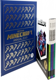 Minecraft The Survival Collection Books Set with Minecraft Annual 2019 Photo