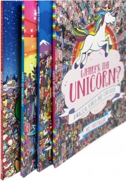 Wheres The Unicorn 4 Book Collection Photo