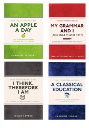 My Grammar and I 4 Book Collection Set An Apple A Day, A Classical Education, I Think, Therefore I Am, My Grammar And I Photo