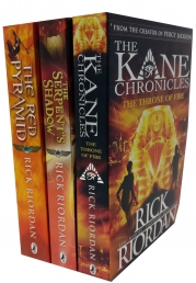 The Kane Chronicles Collection Rick Riordan 3 Books Set Photo
