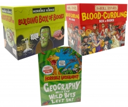 Horrible Collection 52 Books Box Set (Horrible Histories, Horrible Science and Horrible Geography) Photo