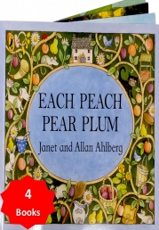Each Peach Pear Plum and Other Stories Collection 4 Books Set Photo