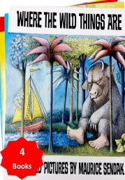 Where The Wild Things Are and Other Stories Collection 4 Books Set Photo