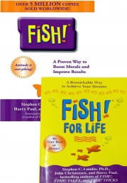 Fish For Life 2 Books Collection Set By Stephen Lundin by Stephen C. Lundin