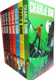 Charlie Bone Collection 8 Books Set Red Knight, Midnight by Jenny Nimmo