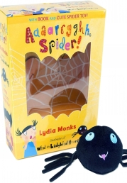 Aaaarrgghh Spider Book and Plush Toy Set Book and Toy by Lydia Monks illustrator of What the Ladybird Heard Photo