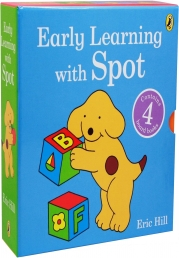 Early Learning With Spot 4 Books Collection Set By Eric Hill Photo