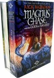 Magnus Chase and the Gods of Asgard Series Collection 2 Books Set By Rick Riordan (Deluxe Edition, Books 1-2) Photo