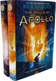 Rick Riordan The Trials of Apollo Series Collection 2 Books Set (Deluxe Cover) Photo