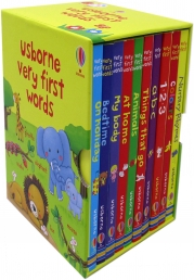Usborne Very First Words Collection 10 Books Box Set Photo