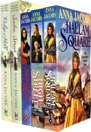 Anna Jacobs Gibson Family Saga 5 Books Collection Photo