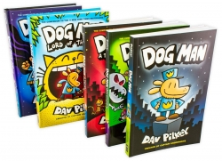 The Dog Man Series 5 Book Sets Photo