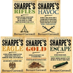 Bernard Cornwell's Richard Sharpe's Series 6 to 10 (5 Books Set) (Escape, Gold, Eagle, Havoc, Rifles) Photo