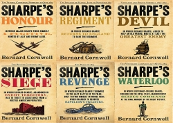 Bernard Cornwell's Richard Sharpe's Series 16 to 21 (6 Books Set) (Revenge, Regiment, Waterloo, Siege, Devil, Honour) Photo