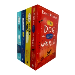 Ross Welford Collection 4 Books Set The 1000 year old Boy What Not to Do If You Turn Invisible Time Travelling with a Hamster by Ross Welford