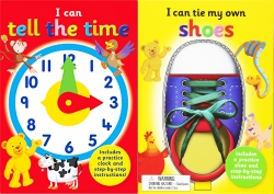 I Can Series 2 Books Collection Set - I Can Tie My Own Shoelaces, I Can Tell The Time by Kate Thomson