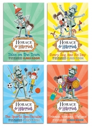 Horace and Harriet Series 4 Books Collection Set Photo