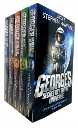 Lucy and Stephen Hawking George Series Collection Set of 5 Books (Key to the Universe, Cosmic Treasure Hunt, Big Bang, Unbreakable, Blue Moon) Photo
