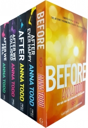 Anna Todd's The After Series 5 Books Set Photo