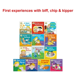 First Experiences with Biff Chip and Kipper Collection 13 Books Set Photo